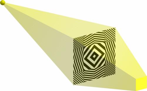probe optik linsen physik